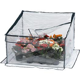 Kasvihuone Hortus, telttamalli, taittuva, 70x70x35/50cm