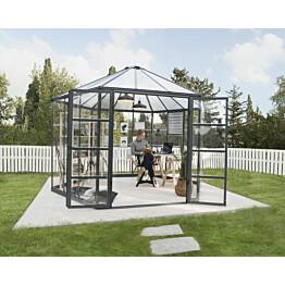 """Kasvihuone Palram Oasis 8,6 m² 6-kulmainen 12"""""""