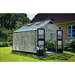Kasvihuone Juliana Premium 10,9 m² 10mm kennolevyllä