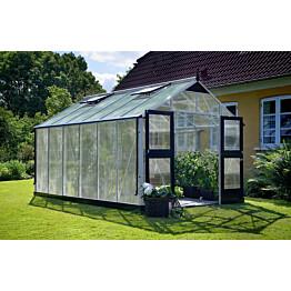 Kasvihuone Juliana Premium 13,0 m² 10mm kennolevyllä