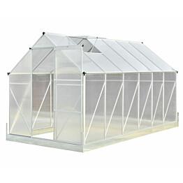 Kasvihuone Viheraarni Luxus 7 m² 4 mm kennolevyllä alumiinirunko
