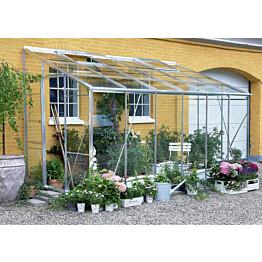 Kasvihuone Juliana Royal 7,2 m² seinämalli lasi/alumiini