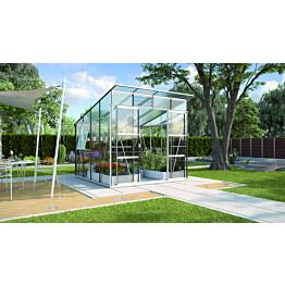 Kasvihuone Vitavia Freya 7600 6,5 m² turvalasi/alumiini