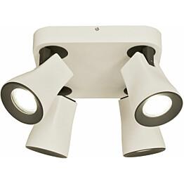Kattospotti Scan Lamps Modus 4-osainen GU10 valkoinen/musta