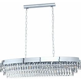 Kattovalaisin Eglo Crystal&Design Valparaiso 1150 mm kromi