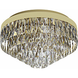 Kattovalaisin Eglo Crystal&Design Valparaiso Ø480 mm kulta