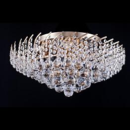 Kattovalaisin Maytoni Diamant Karolina kulta/kristalli 9 poltinta