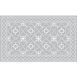Käytävämatto Beija Flor Havana 68x180 cm harmaa/valkoinen