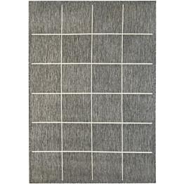 Käytävämatto Hestia Oodi 80x250 cm harmaa/valkoinen