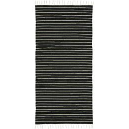 Käytävämatto VM Carpet Aitta eri kokoja musta-beige