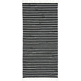 Käytävämatto VM Carpet Aitta eri kokoja musta-valkoinen