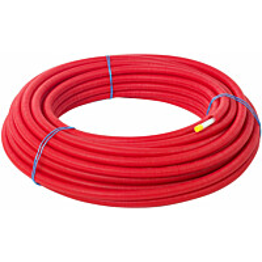 Käyttövesi-/lämmitysputki Meltex Sujusani PEX-c Ø15x2,5 mm, punainen, 50 m