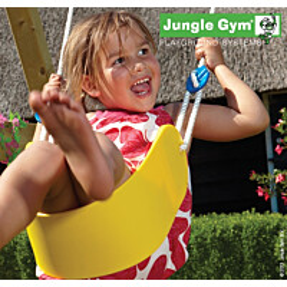 Keinuistuin Jungle Gym Sling Swing, keltainen