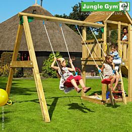Leikkikeskuksen keinumoduuli Jungle Gym Swing Module X'tra