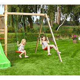 Keinumoduuli leikkitorniin Jungle Gym Swing Module Xtra sis. puutavaran