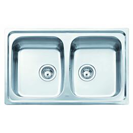 Keittiöallas Teka BASICO 79 2B 790x500 mm 2-altainen rst
