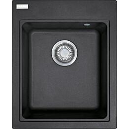 Keittiöallas Franke Maris MRG 610-42 425x520 mm Fragranite musta