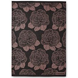 Keittiöpyyhesetti Finlayson Sylvi 50x70 cm musta/roosa