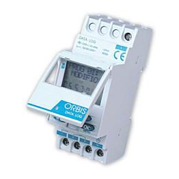Digitaalinen kellokytkin Crono DATA LOG 1 16A 230V 1-piiri