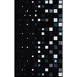 Keraaminen kuviolaatta Cer-Rol Kwant Czarny Centro 25x40cm musta