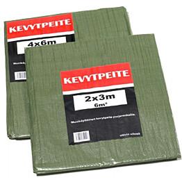 Kevytpeite Meltex vihreä 14x18 m (252 m²) 100 g/m²