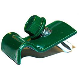 Kiinnityslangan kiinnike ja ruuvi vihreä