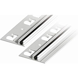 Kiinnityspohja liikuntasaumalistoille Progress Profiles Proinsert PINBFT40, 2,7m, alumiini
