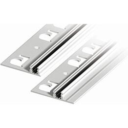 Kiinnityspohja liikuntasaumalistoille Progress Profiles Proinsert PINBFT45, 2,7m, alumiini