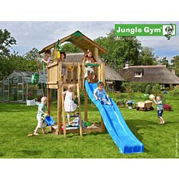 Leikkikeskus Jungle Gym Chalet sis. liukumäki