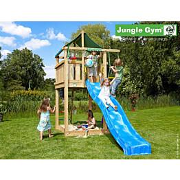 Leikkikeskus Jungle Gym Lodge sis. liukumäki