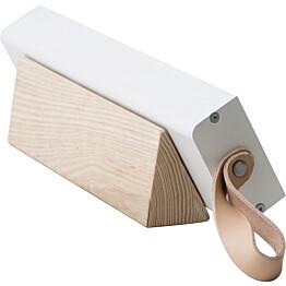 Kirkasvalolamppu/työpöytävalaisin Innolux Valovoima Mini, 75x300mm, valkoinen/puu