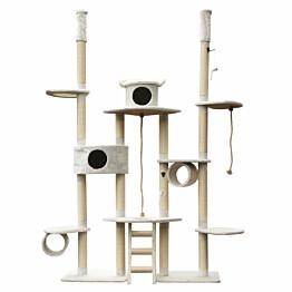 Kissan kiipeilypuu VIPstore Lumilinna 240-270x65 cm