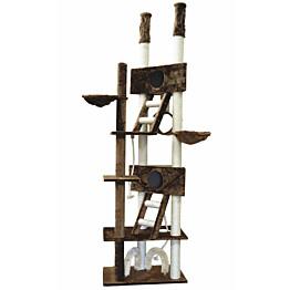 Kissan kiipeilypuu VIPstore Pilvenpiirtäjä 240-260x73x45 cm eri värejä