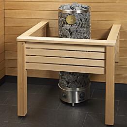 Kiukaan suojakaide/jalkatuki Sun Sauna Classic U-malli mittojen mukaan
