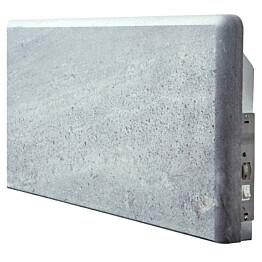 Kivipatteri Mondex vuolukivi 300x800 mm 600 W