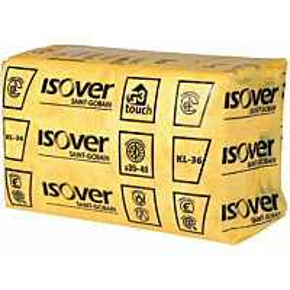 Mineraalivilla Isover KL 36 yksittäispakattu 565x870x100 4.92m2