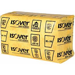 Mineraalivilla Isover KL 36 yksittäispakattu 565x1170x100 6.61m2