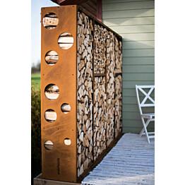 Klapiseinä GrillSymbol Wiimaa WoodStock L, 240 x 37 x 170 cm