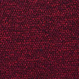 Kokolattiamatto mittatilausmatto Flooria Baltic punainen