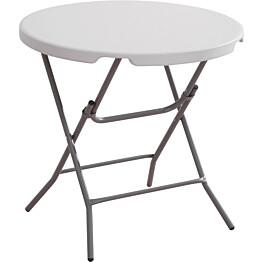 Kokoontaitettava pöytä AB Polar 80cm valkoinen