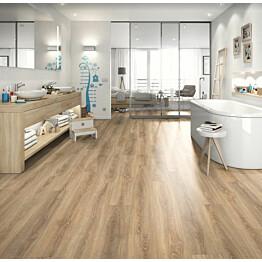 Komposiittilattia Egger Design GreenTec Tammi Karkea Rustic 1,995 m²/pkt