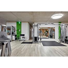 Komposiittilattia Egger Flooring Design GreenTec Tammi Monfort Valkoinen 1,995 m²/pkt