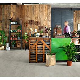 Komposiittilattia Egger Flooring Design GreenTec Chromix Silver 2,543 m²/pkt