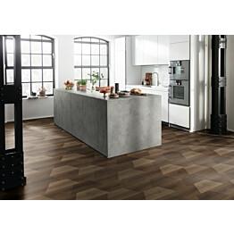 Komposiittilattia Egger Flooring Design GreenTec Pähkinä Creative Bedollo 1,995 m²/pkt