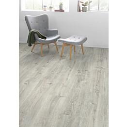 Komposiittilattia Egger Flooring Design GreenTec Tammi White Waltham 2,543 m²/pkt