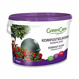 Kompostieliksiiri GreenCare Puutarha & Bio 3 kg astia