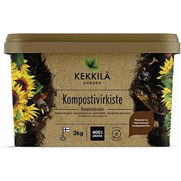 Kompostivirkiste Kekkilä 3 kg