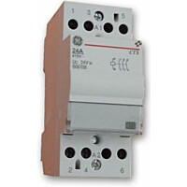 Kontaktori GE äänetön 4AV 24A/230V
