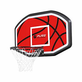 Koripallolevy Pure2Improve Basketball Backboard seinäkiinnitys