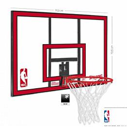 Koripallotelineen taustalevy Spalding NBA polykarbonaatista